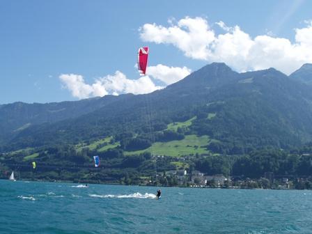 Walensee KitesurferInnen